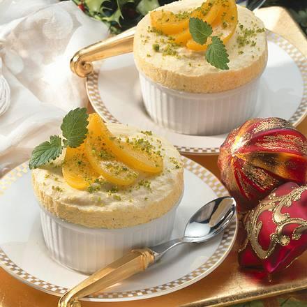Pfirsich-Zitronen-Parfait Rezept