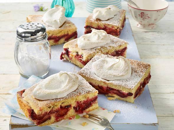 Pflaumen-Baiser-Kuchen Rezept