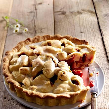 Pflaumen-Birnen-Pie Rezept