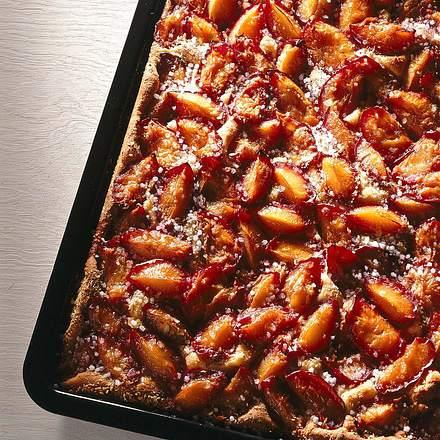 Pflaumen-Blechkuchen Rezept
