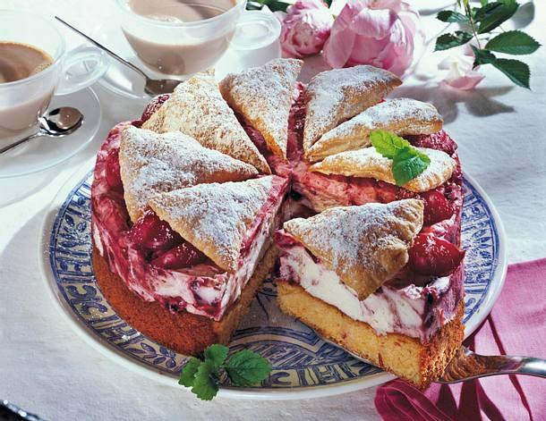 Pflaumen-Joghurt-Torte Rezept