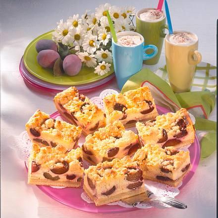 Pflaumen-Käse-Kuchen Rezept