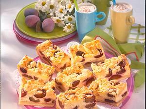 Pflaumen-Käse-Kuchen mit Butterstreusel Rezept
