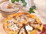 Pflaumen-Käse-Tarte Rezept