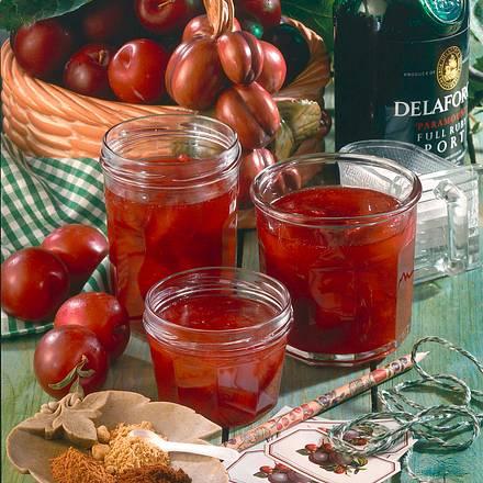 Pflaumen-Kirsch-Konfitüre Rezept