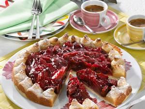 Pflaumen-Marzipan-Kuchen Rezept
