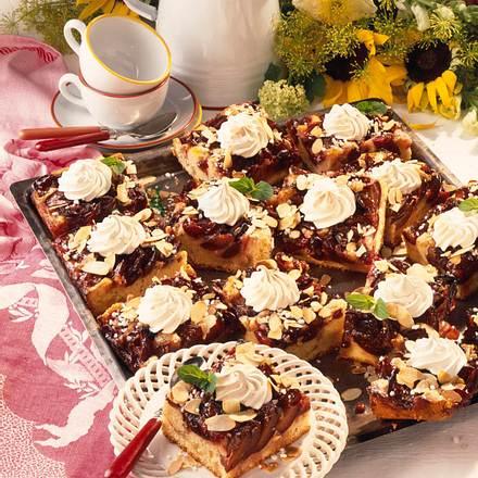Pflaumen-Marzipan-Kuchen mit Baiser Rezept