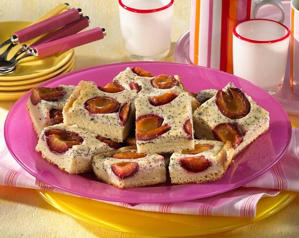Pflaumen-Mohn-Kuchen Rezept