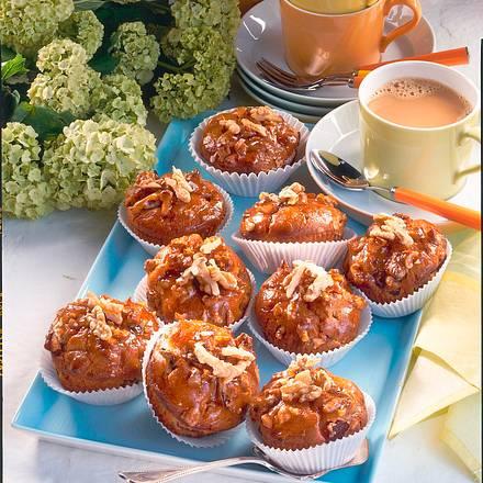 Pflaumen-Nuss-Muffins Rezept