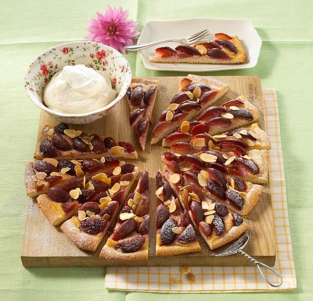 Pflaumen-Pizza Rezept