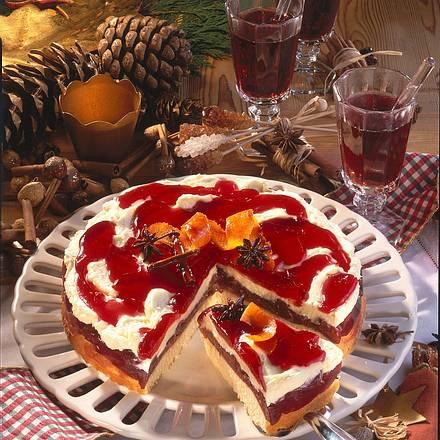 Pflaumen-Punsch-Torte Rezept