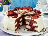 Pflaumen-Sahne-Torte Rezept