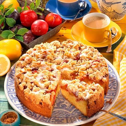 Pflaumen Streusel Kuchen Rezept Lecker