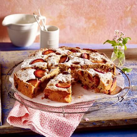 Pflaumen-Vollkorn-Kuchen Rezept