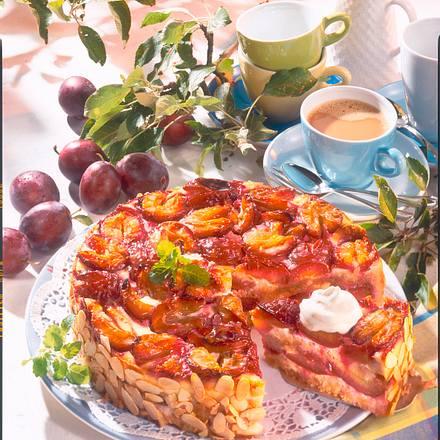 Pflaumen-Zwieback-Kuchen Rezept