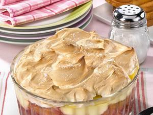 Pflaumenkompott-Auflauf mit Eischneehaube Rezept