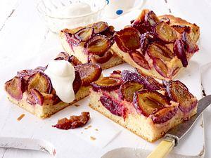 Pflaumenkuchen mit Frangipane Rezept