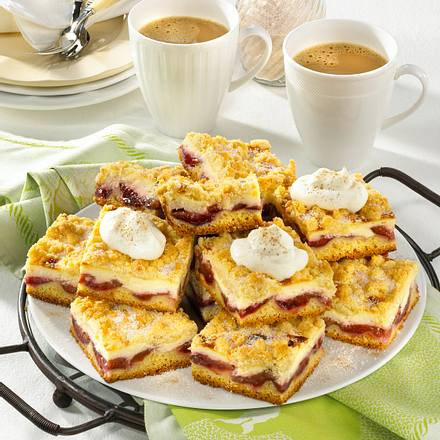 Pflaumenkuchen mit Butterstreusel Rezept