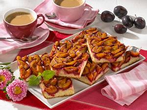 Pflaumenkuchen vom Blech (Diabetiker) Rezept