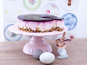Philadelphia-Cheesecake mit Blaubeeren Rezept