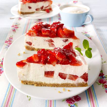 philadelphia erdbeer torte w rfel rezept chefkoch rezepte auf kochen backen und. Black Bedroom Furniture Sets. Home Design Ideas