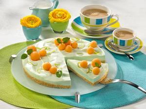 Philadelphia-Torte mit Melonen Rezept