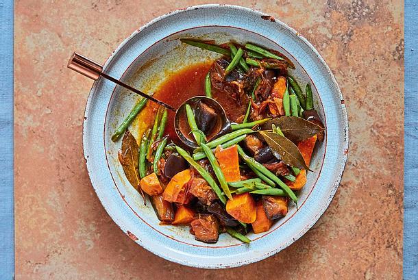Philippinisches Gemüse-Adobo Rezept