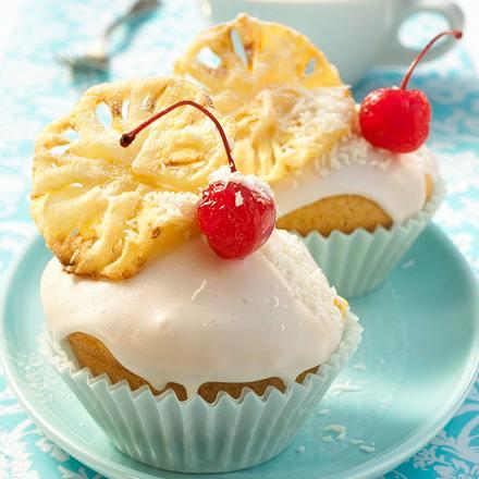 Piña-Colada-Muffins Rezept