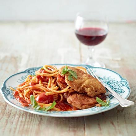 Piccata Milanese mit Spaghetti Rezept