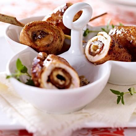 Pics de poulet à la marocaine Rezept