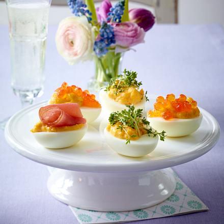 Pikante Eiernester Rezept