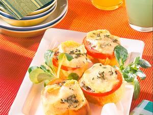 Pikante Käse-Häppchen Rezept