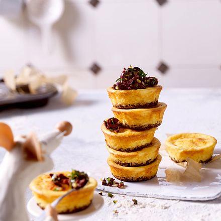 Pikante Käsekuchen-Muffins Rezept