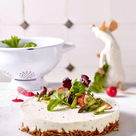 Pikante Quark-Torte Rezept
