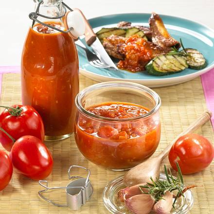 Pikante Tomaten-Grill-Soße Rezept
