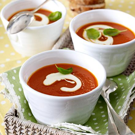 Pikante Tomatensuppe Rezept