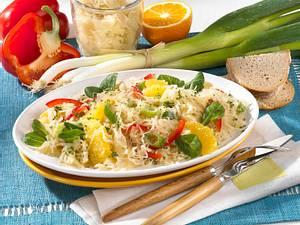 Pikanter Sauerkrautsalat Rezept