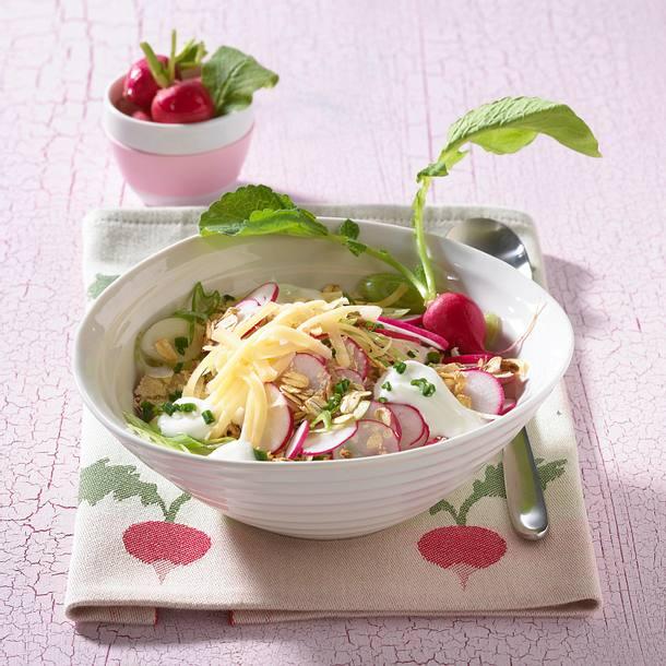 Pikantes Radieschen-Müsli (Diät) Rezept