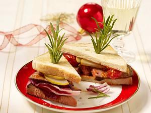 Pikantes Steak-Sandwich Rezept