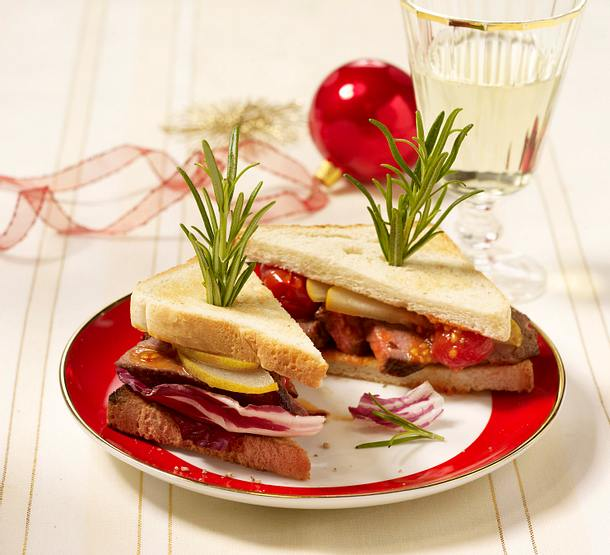 Pikantes Steak-Sandwich Rezept