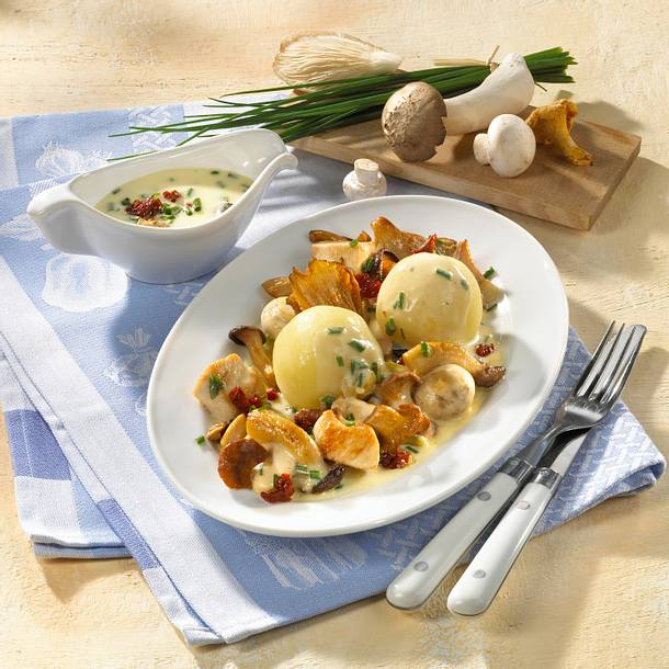 Pilz-Geflügel-Ragout Rezept