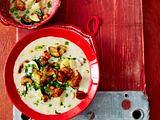Pilz-Hähnchen-Eintopf (Stew) Rezept
