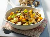 Pilz-Kartoffel-Pfanne Rezept