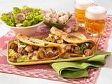 Pilz-Omeletts Rezept