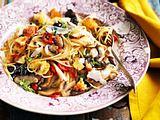 Pilz-Spaghetti Rezept