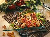 Pilzsalat mit Kräuterflädle Rezept