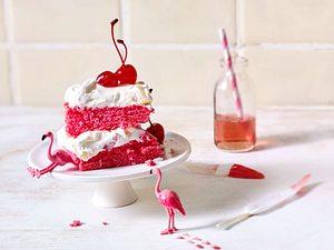 Pink-Flamingo-Schnitten Rezept