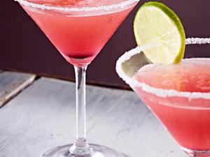 Pink Grapefruit and lime slush Rezept