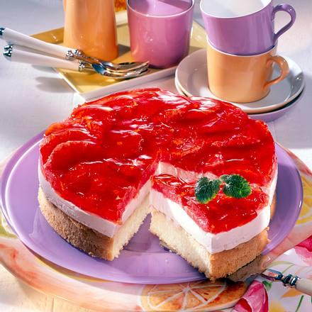 Pink-Grapefruit-Torte Rezept