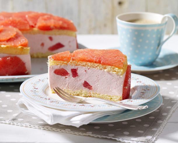 Pink Grapefruit-Torte Rezept